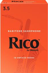 Rico 10-Pack Baritone Sax Reeds #3.5 (8B3.5)