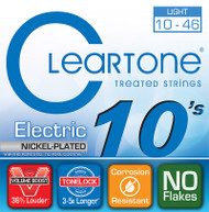 Cleartone Nickel Plated Electric 10-46 Light (9410)