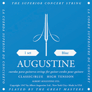 Set Augustine Classic Blue Regular Trebles/High Tension Basses (A1310)