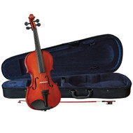 Anton Breton AB-05 3/4 Size Violin Outfit,Traditional Red