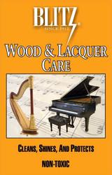 Piano Polish Blitz Wood and Lacquer Care (B311)