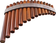 Concert Series Pan Flute - 15-note diatonic scale, G to G
