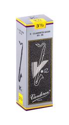 Vandoren CR6235 Bass Clarinet V 12 Reeds Strength No. 3.5, Box of