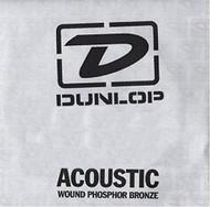 Dunlop 40 Wound Phosphor Bronze Acoustic Guitar String (DAP40)