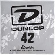 Dunlop 42 Electric Wound Nickel Plated Steel Guitar String (DEN42)