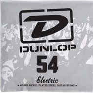 Single Dunlop 54 Electric Wound Nickel Plated Steel Guitar String