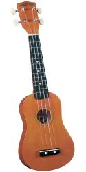 Diamond Head DU-101 Rainbow Soprano Ukulele Brown