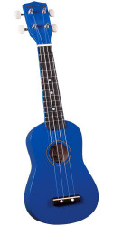 Diamond Head DU-107 Rainbow Soprano Ukulele Blue