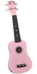 Diamond Head DU-110 Rainbow Soprano Ukulele Pink