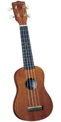 Diamond Head DU-200 Deluxe Natural Mahogany Soprano Ukulele