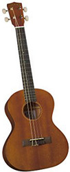 Diamond Head DU-200T Deluxe Natural Mahogany Tenor Ukulele FRONT
