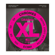 D'Addario Chromes Bass 45-100 Light Long Scale (ECB81) Package Front