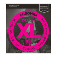 D'Addario Chromes Bass 45-132 Light Long Scale (ECB81-5) Package Front