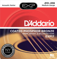 D'Addario Coated Phosphor Acoustic 13-56 (EXP17) Packaging Front