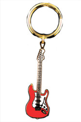 Electric Guitar Key Chain - Re