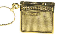 Harmony Jewelry Mesa Boogie Guitar Amplifier Necklace Gold