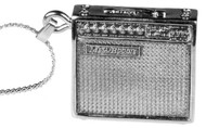 Harmony Jewelry Mesa Boogie Guitar Amplifier Necklace Silver