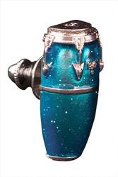 Harmony Jewelry Conga Drum Pin Blue (FPP579SBU)