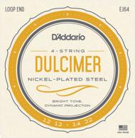 D'Addario J64 4-String Dulcimer Strings (J64)