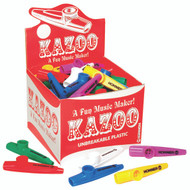 Hohner Inc, USA KC 50 Kazoos, Assorted Colors, 50 Pack