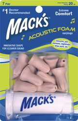 Mack's 967 Acoustic Foam Ear Plugs Pack