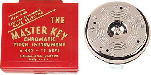 Kratt Master Key Chromatic Pitch Pipe (MK2)