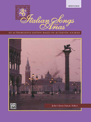 26 Italian Songs And Arias 1