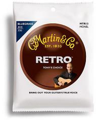 Martin - MTR13 - Tony Rice Bluegrass Acoustic Guitar Strings, .013-.05