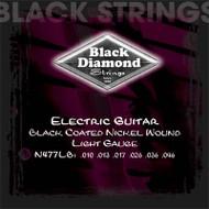 Set Black Diamond Nickel Wound Light Black Coated N477LB