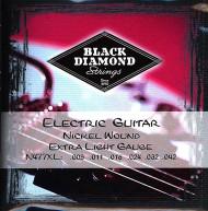 Set Black Diamond Nickel Wound Extra Light N477XL