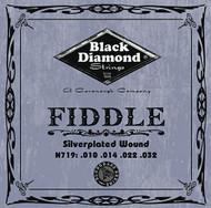 Black Diamond N719 Silverplated Fiddle Strings, Medium