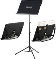 LPD Music PAS-TB-BLK Portable Music Stand, Portastand Troubadour