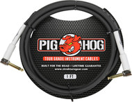 01' Pig Hog 8mm Right-Angled Guitar/Instrument Cable