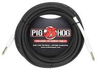 """25' Pig Hog PH25 Tour Grade Instrument Cable 1/4"""" - 1/4"""" 8mm (PH25)"""