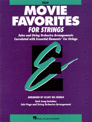 Essential Elements Movie Favorites For Strings, Cello
