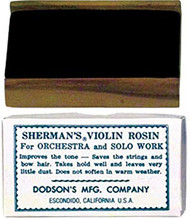 Sherman's Bow Rosin Violin Dark (SR1D)