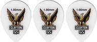Clayton Acetal Polymer Small Teardrop 1.00mm 12 Picks (ST100/12)