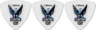 Clayton Acetal Polymer Rounded Triangle 1.90mm 72 Picks