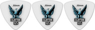 Clayton Acetal Polymer Rounded Triangle 0.50mm 72 Picks (T50)