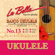 LaBella Ukulele Strings No. 13 Banjo (U13)