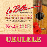 LaBella Ukulele Strings No. 25 Baritone (U25)