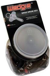 Drum Key Wedgie Black Tub of 25 (WDK025-B)