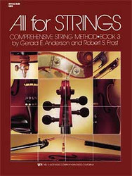 All For Strings Book 3 - String Bass