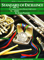 Standard Of Excellence (Soe) Bk 3, Drums/Mallet Percussion