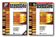 Essential Elements 2000 for Percussion - Two Book Set - Includes Book 1 with ..