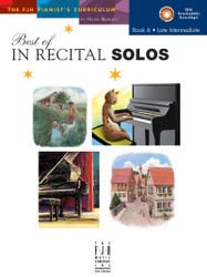 Best of In Recital Solos, Book 6