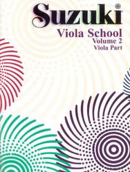 Suzuki Viola School Viola Part, Volume 2