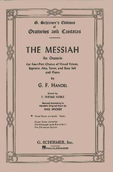 Messiah (Oratorio, 1741), Complete Vocal Score Satb, Satb