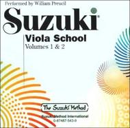 Suzuki Viola School Cd, Volume 1 & 2