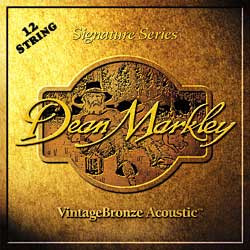 Dean Markley VintageBronze Signature Series Acoustic 12-String, 9-46, 2202